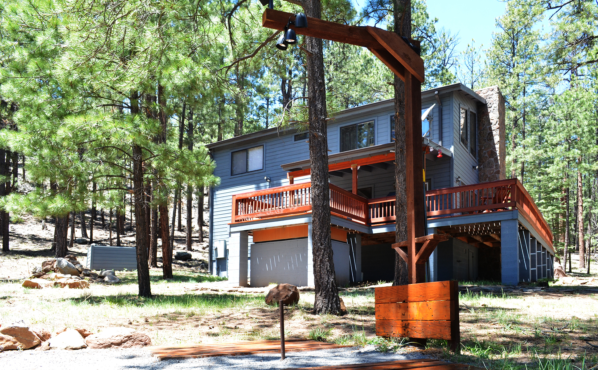 arizona uncategorized in of rentals rental cabins az the mountain cabin top vacation pinetop